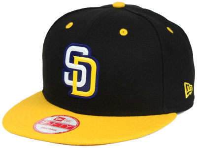 San Diego Padres MLB Beveled Rubber Logo 9FIFTY Snapback Cap Hats
