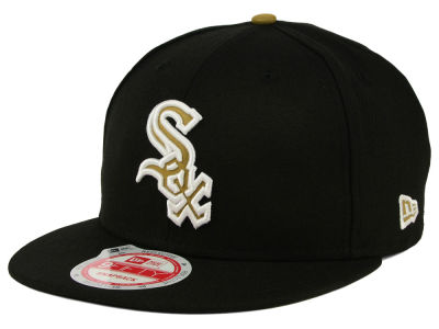 Chicago White Sox MLB Goldie Logo 9FIFTY Snapback Cap Hats