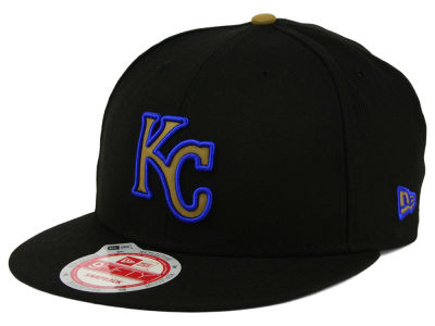 Kansas City Royals MLB Goldie Logo 9FIFTY Snapback Cap Hats