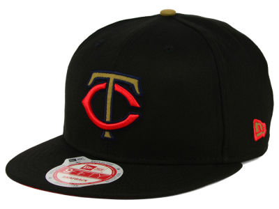 Minnesota Twins MLB Goldie Logo 9FIFTY Snapback Cap Hats