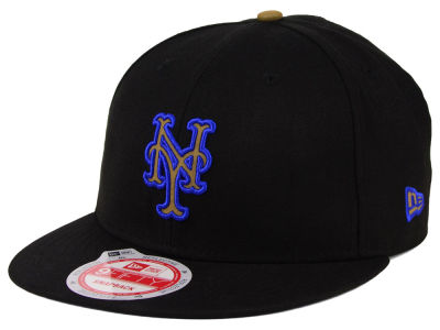 New York Mets MLB Goldie Logo 9FIFTY Snapback Cap Hats