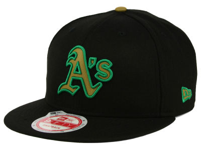 Oakland Athletics MLB Goldie Logo 9FIFTY Snapback Cap Hats