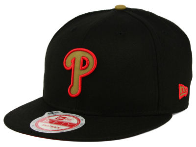 Philadelphia Phillies MLB Goldie Logo 9FIFTY Snapback Cap Hats