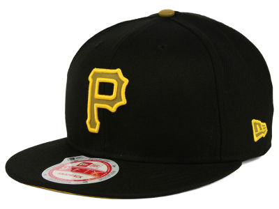 Pittsburgh Pirates MLB Goldie Logo 9FIFTY Snapback Cap Hats
