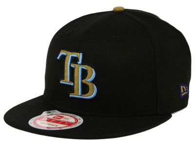 Tampa Bay Rays MLB Goldie Logo 9FIFTY Snapback Cap Hats