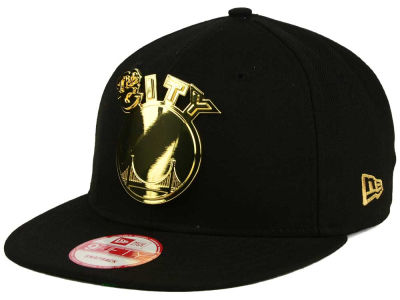 Golden State Warriors NBA HWC League O'Gold 9FIFTY Snapback Cap Hats