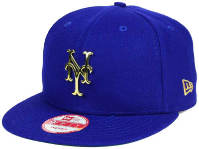 New York Mets MLB League O'Gold 9FIFTY Snapback Cap Hats