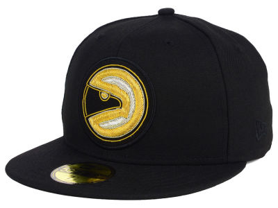 Atlanta Hawks NBA HWC Beaded Logo 59FIFTY Cap Hats