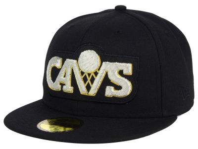 Cleveland Cavaliers NBA HWC Beaded Logo 59FIFTY Cap Hats