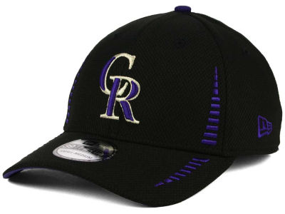 Colorado Rockies MLB Hardball 39THIRTY Cap Hats