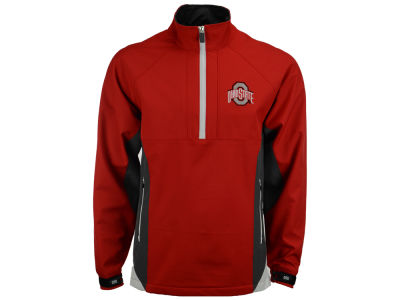 J America NCAA Men's Sideline Half Zip Jacket