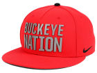Ohio State Buckeyes Nike NCAA True Seasonal Strapback Cap Adjustable Hats