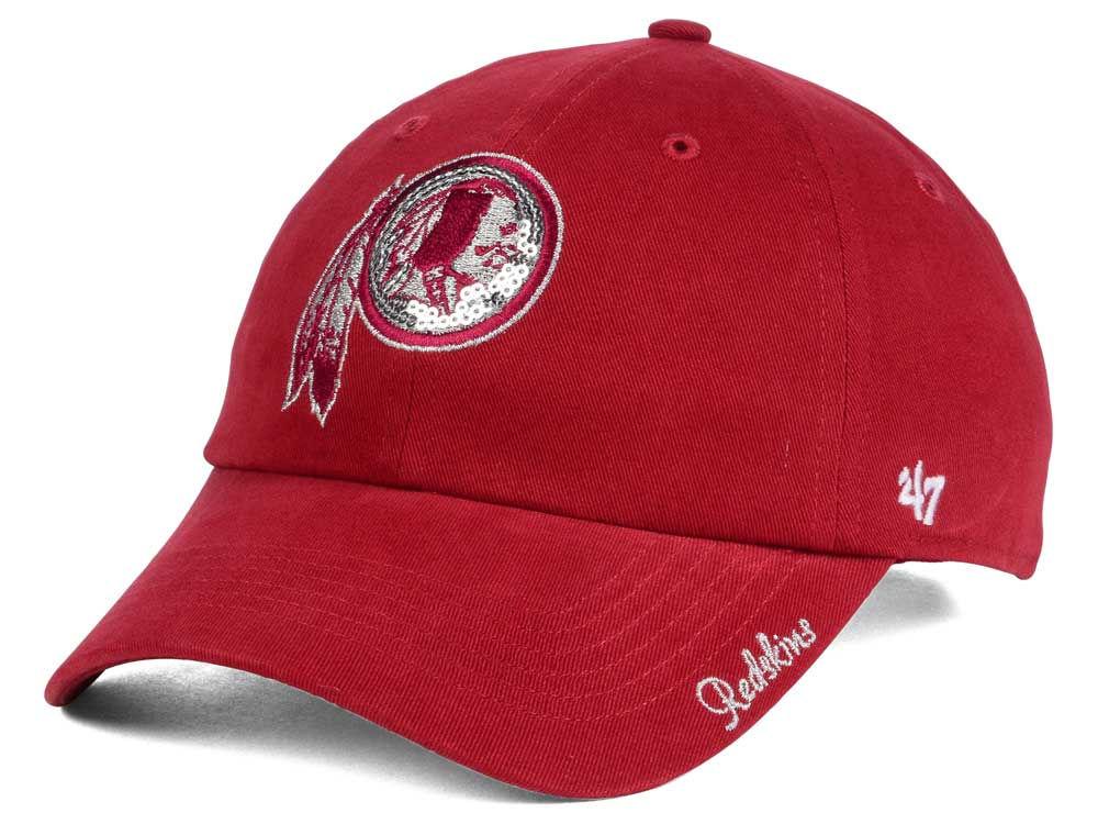 sports shoes c8f40 bc393 50%OFF Washington Redskins  47 NFL  47 Womens Sparkle Team Color Cap -  grifonsa.es