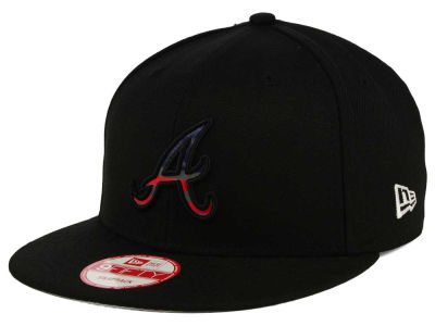 Atlanta Braves MLB America Team Logo 9FIFTY Snapback Cap Hats
