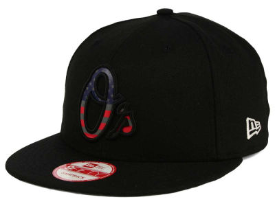 Baltimore Orioles MLB America Team Logo 9FIFTY Snapback Cap Hats