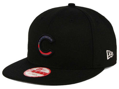 Chicago Cubs MLB America Team Logo 9FIFTY Snapback Cap Hats