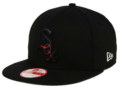 Chicago White Sox MLB America Team Logo 9FIFTY Snapback Cap Hats