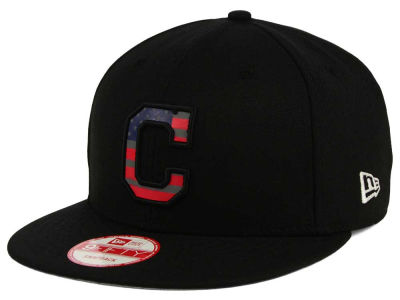 Cleveland Indians MLB America Team Logo 9FIFTY Snapback Cap Hats