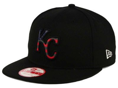 Kansas City Royals MLB America Team Logo 9FIFTY Snapback Cap Hats