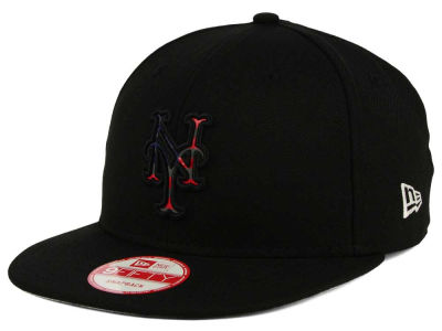 New York Mets MLB America Team Logo 9FIFTY Snapback Cap Hats