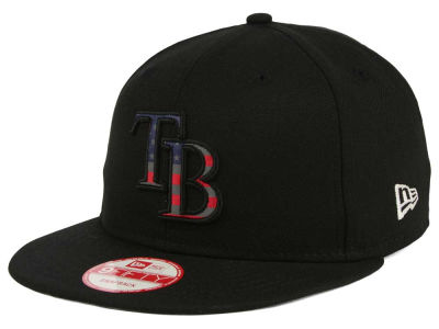 Tampa Bay Rays MLB America Team Logo 9FIFTY Snapback Cap Hats