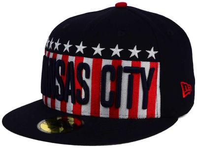 Kansas City Royals MLB Big USA 59FIFTY Cap Hats