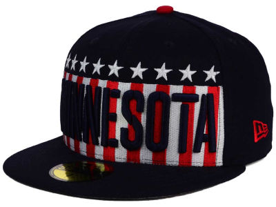 Minnesota Twins MLB Big USA 59FIFTY Cap Hats