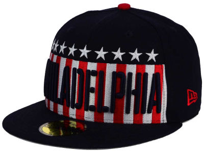 Philadelphia Phillies MLB Big USA 59FIFTY Cap Hats