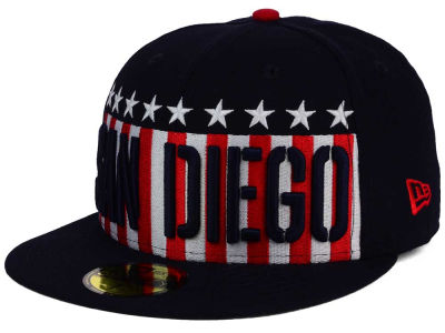 San Diego Padres MLB Big USA 59FIFTY Cap Hats
