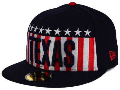 Texas Rangers MLB Big USA 59FIFTY Cap Hats
