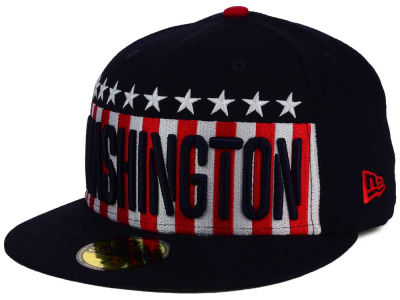 Washington Nationals MLB Big USA 59FIFTY Cap Hats