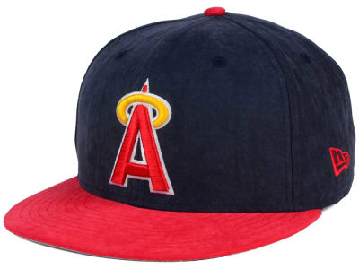 Los Angeles Angels MLB Summer Suede 9FIFTY Snapback Cap Hats