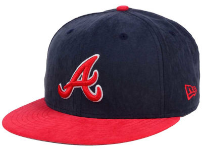Atlanta Braves MLB Summer Suede 9FIFTY Snapback Cap Hats