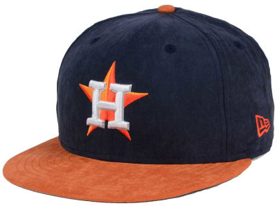 Houston Astros MLB Summer Suede 9FIFTY Snapback Cap Hats