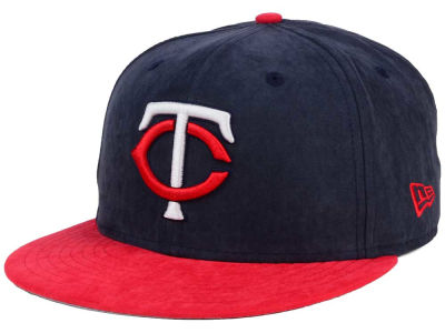 Minnesota Twins MLB Summer Suede 9FIFTY Snapback Cap Hats