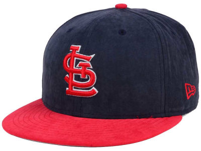 St. Louis Cardinals MLB Summer Suede 9FIFTY Snapback Cap Hats