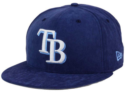 Tampa Bay Rays MLB Summer Suede 9FIFTY Snapback Cap Hats