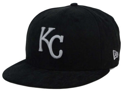 Kansas City Royals MLB Summer Suede 9FIFTY Snapback Cap Hats