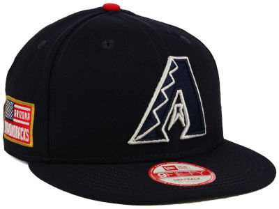 Arizona Diamondbacks MLB All American Patch 9FIFTY Snapback Cap Hats