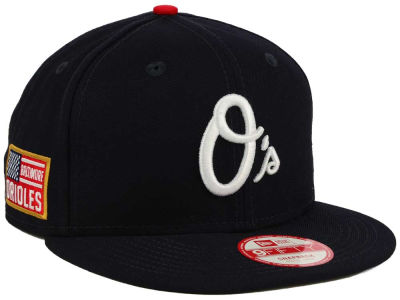 Baltimore Orioles MLB All American Patch 9FIFTY Snapback Cap Hats
