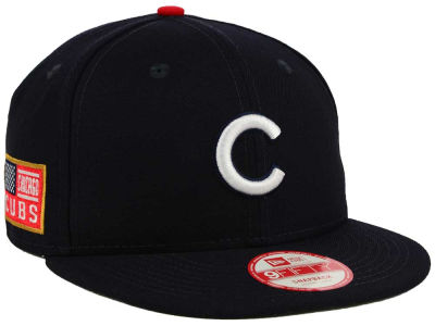 Chicago Cubs MLB All American Patch 9FIFTY Snapback Cap Hats