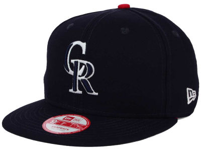 Colorado Rockies MLB All American Patch 9FIFTY Snapback Cap Hats