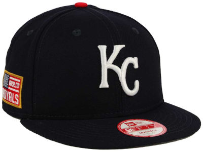 Kansas City Royals MLB All American Patch 9FIFTY Snapback Cap Hats