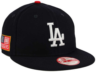 Los Angeles Dodgers MLB All American Patch 9FIFTY Snapback Cap Hats