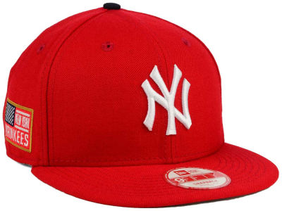 New York Yankees MLB All American Patch 9FIFTY Snapback Cap Hats