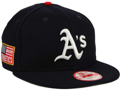 Oakland Athletics MLB All American Patch 9FIFTY Snapback Cap Hats