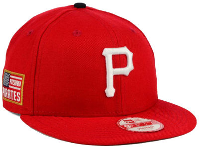 Pittsburgh Pirates MLB All American Patch 9FIFTY Snapback Cap Hats