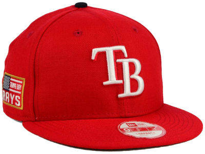 Tampa Bay Rays MLB All American Patch 9FIFTY Snapback Cap Hats