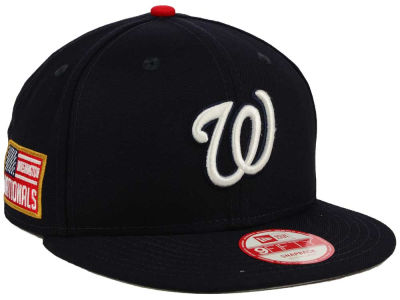 Washington Nationals MLB All American Patch 9FIFTY Snapback Cap Hats