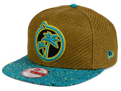 YUMS Paradise Straw 9FIFTY Snapback Cap Hats